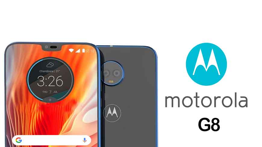 Moto G8 is coming with 6-inch sAMOLED display along with notch design, AI camera and long battery life
