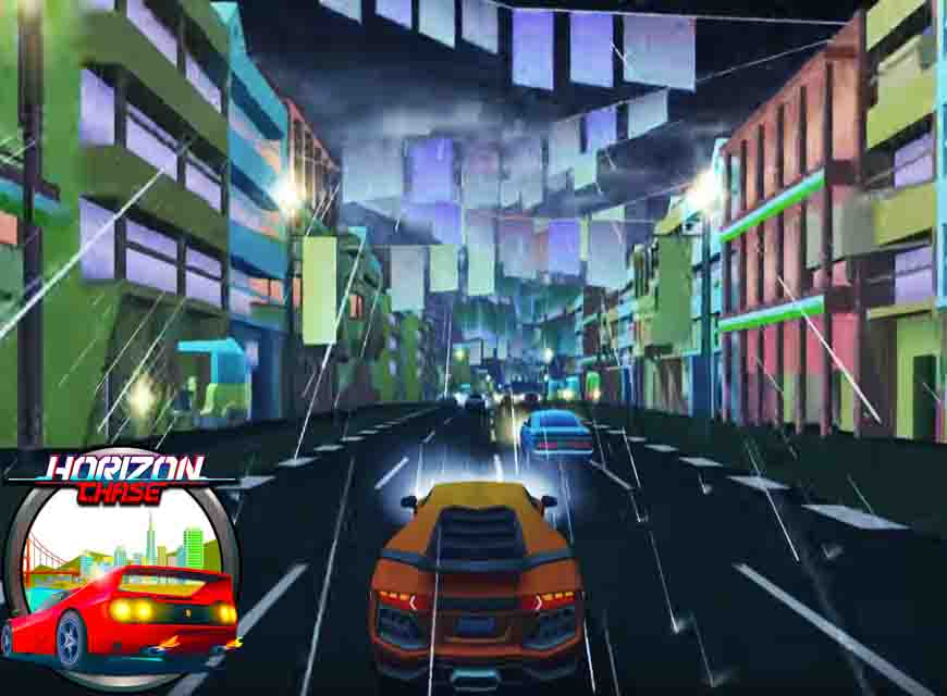 Asphalt 8 similar game Horizon chase